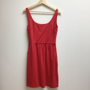 Cynthia rowley red tank dress